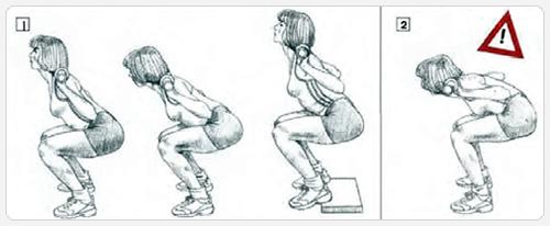 Программа тренировок приседания со штангой